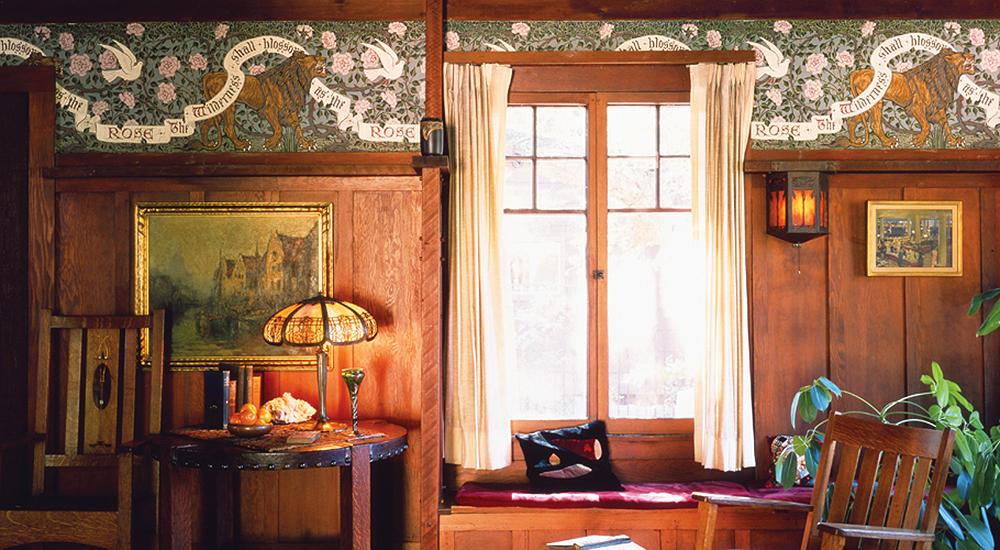 Craftsman Style Wallpaper | Arts & Crafts Movement ...