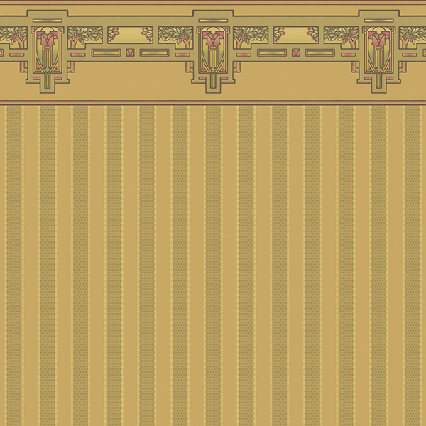 Dollhouse Wallpaper Designed By Bradbury & Bradbury