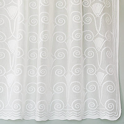 Art Deco Cotton Lace Curtains Vintage Victorian