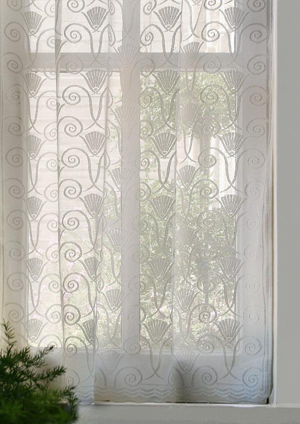 Vintage Victorian Lace Curtains Art Deco Bradbury