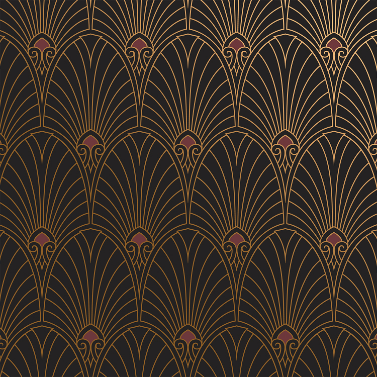 art deco wallpaper and borders by bradbury bradbury. Black Bedroom Furniture Sets. Home Design Ideas