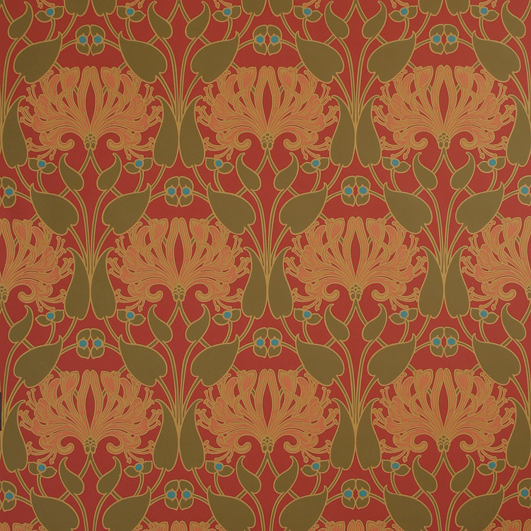 craftsman style wallpaper arts crafts movement