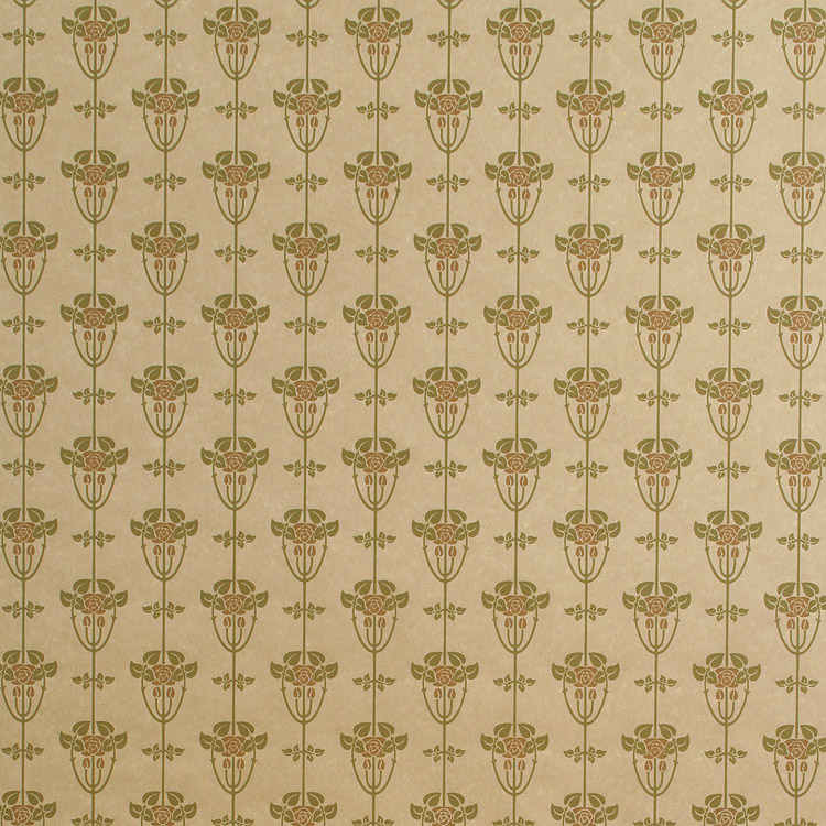 Craftsman style wallpaper arts crafts movement for Arts and crafts style prints