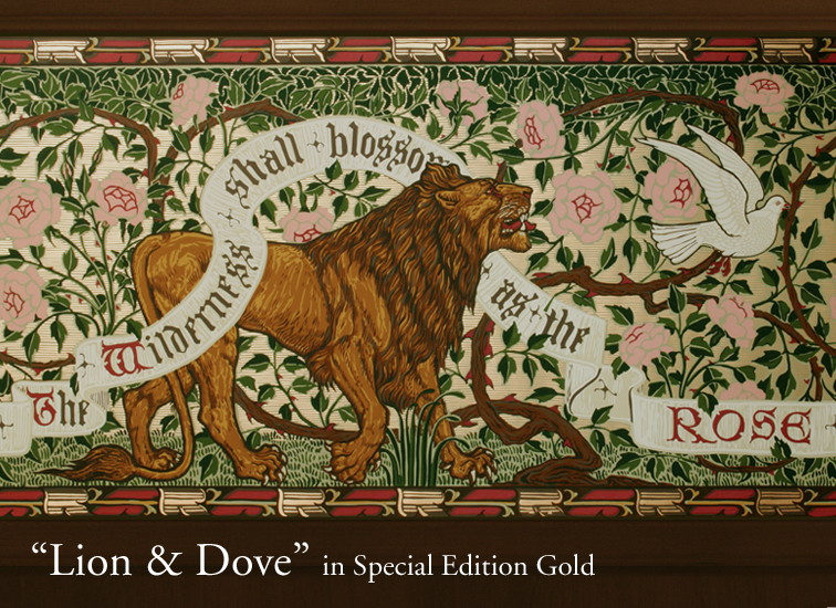 Lion and Dove