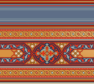 Persian Wallpaper Border