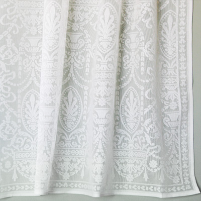 Vintage Victorian Lace Curtains Regency Panel Bradbury