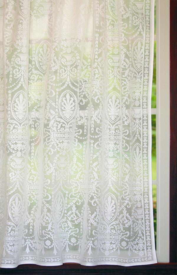Vintage Victorian Lace Curtains Regency Panel Bradbury