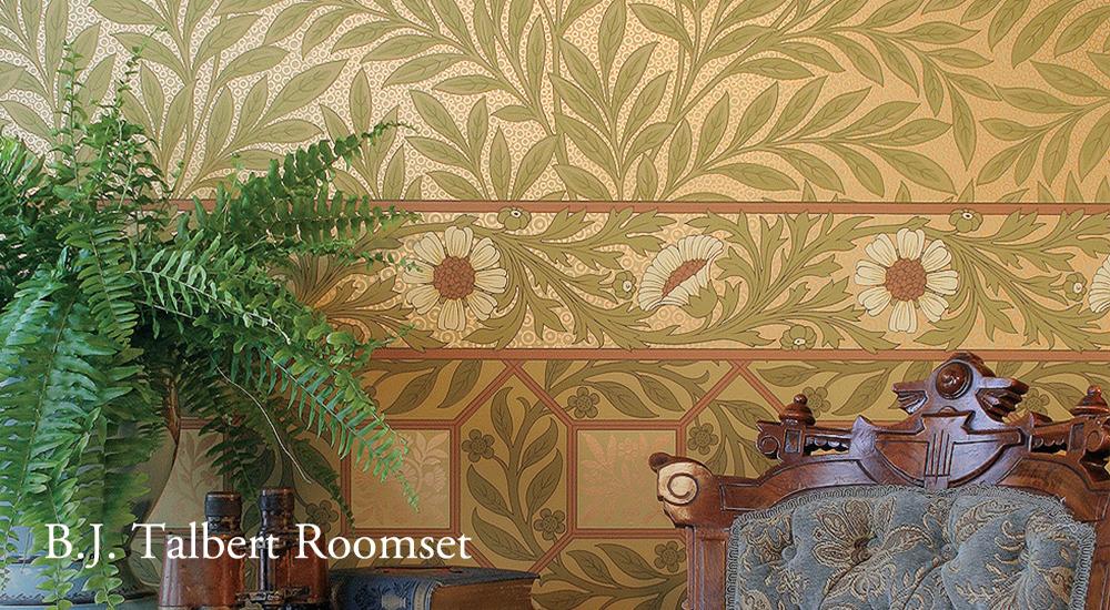 Bradbury & Bradbury Wallpapers | Victorian and Arts & Crafts Design