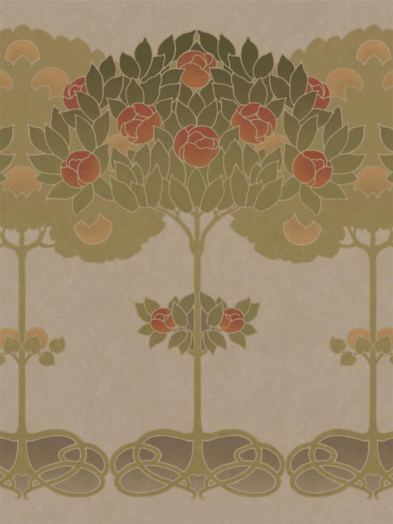 Topiary Art Poster | Bradbury & Bradbury